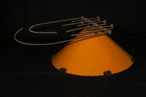 Strutures Baschet - Tige courbe