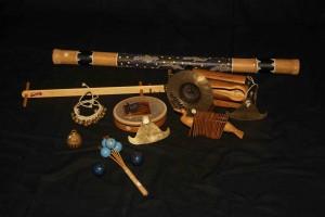 Ensemble de petites percussions